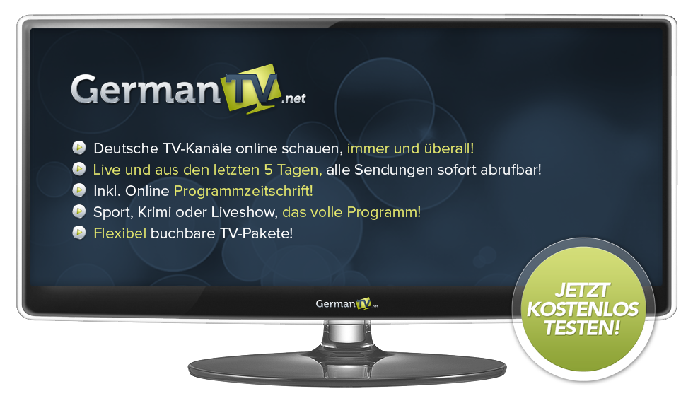germantv deutsches fernsehen online im ausland sehen deutsches fernsehen im internet. Black Bedroom Furniture Sets. Home Design Ideas